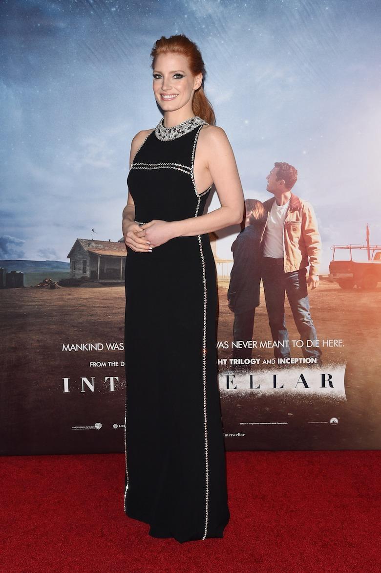 Jessica-Chastain-Interstellar-New-York-Movie-Premiere-Red-