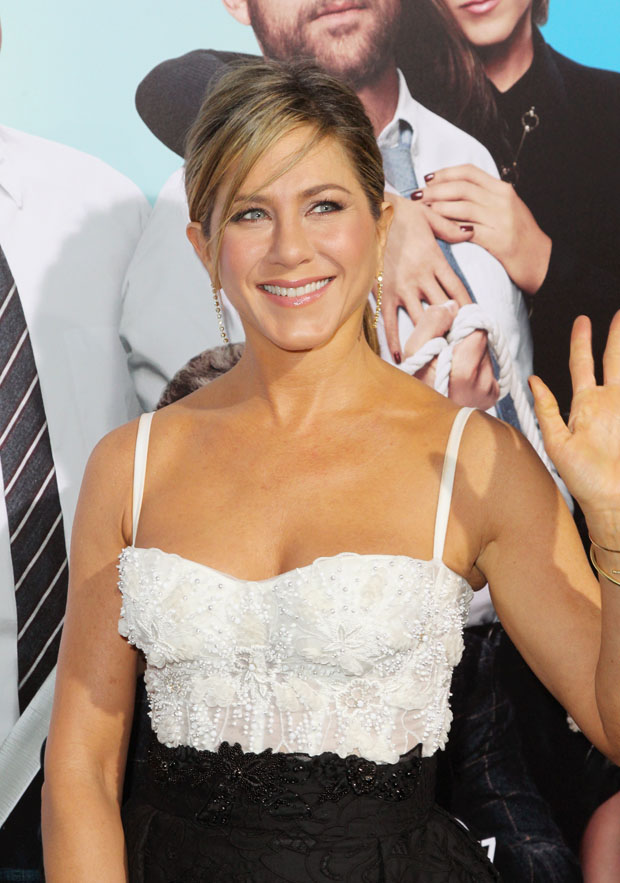 Jennifer Aniston In Zuhair Murad – 'Horrible Bosses 2′ LA Premiere