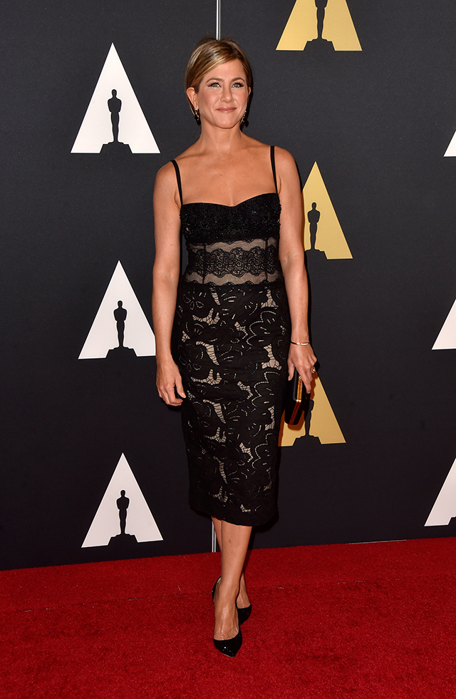 Jennifer -Anniston -Academy Of Motion Picture Arts And Sciences' 2014 Governors Awards - Arrivals