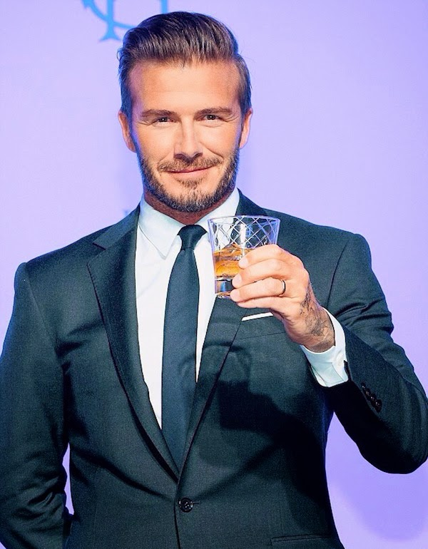 David+Beckham+wears+Ralph+Lauren+Black+Label+suit+at+press+conference+for+Haig+Club+Whiskey+in+Seoul+South+Korea+-+5th+November+2014