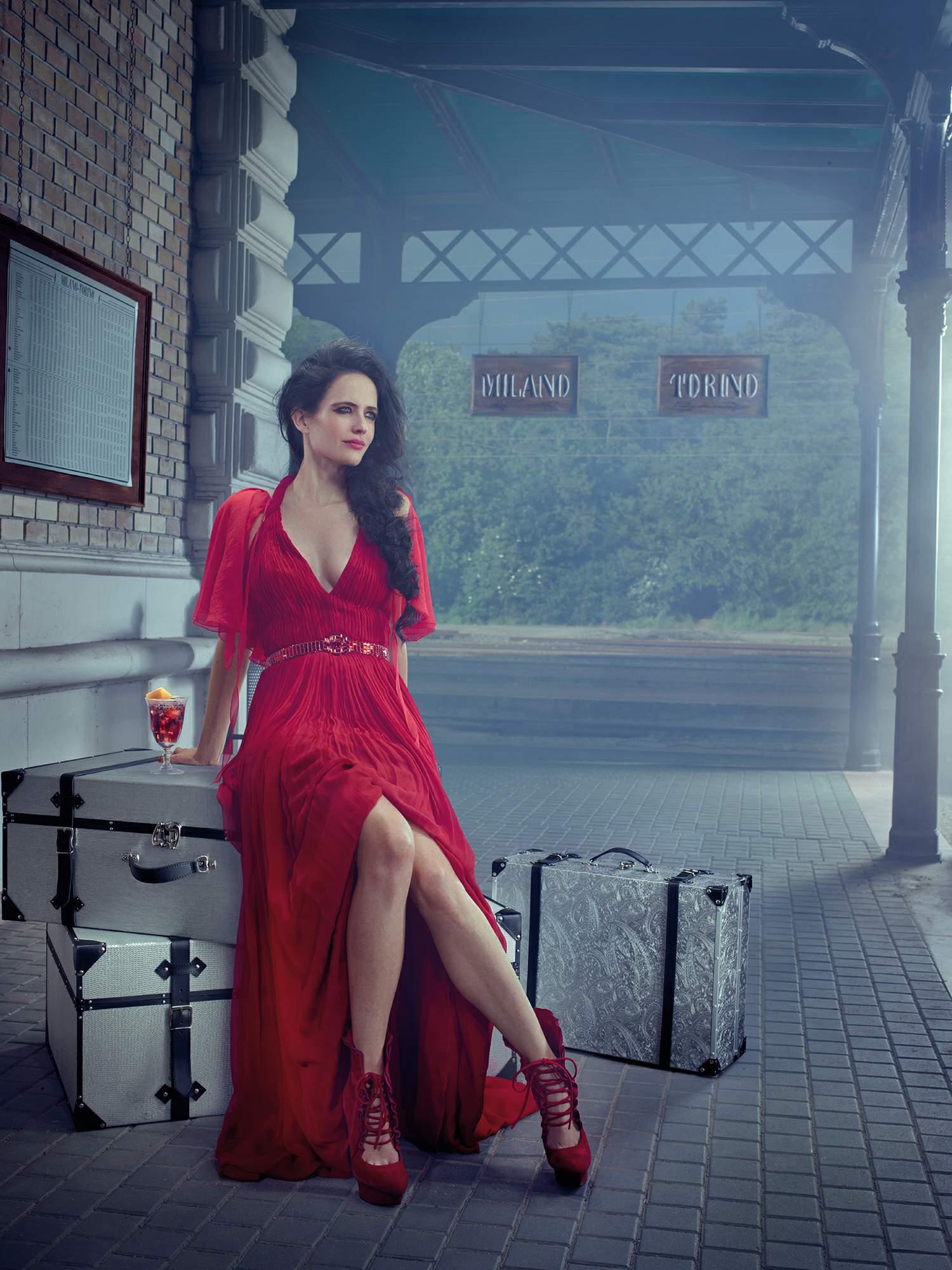 Eva Green Campari Calendar Photoshoot
