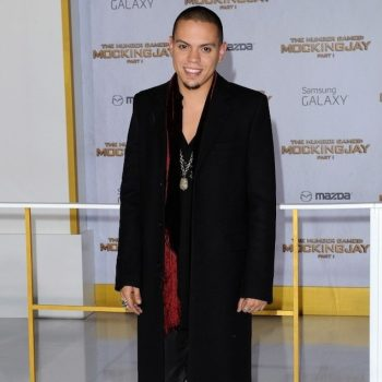 Evan-Ross-Saint-Laurent-western-buckle-boots