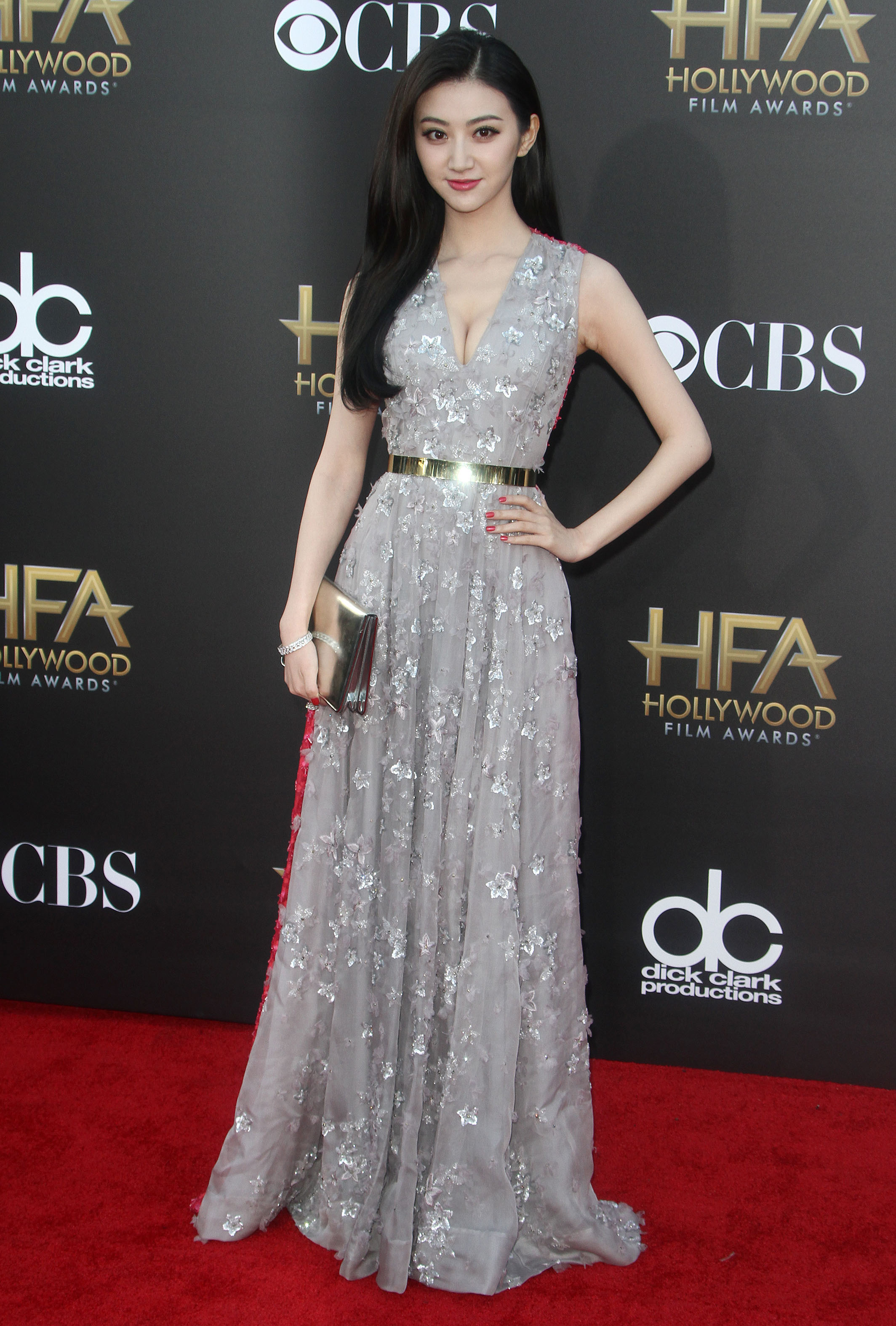 Jing tian was in attendance at the 18th annual hollywood film awards
