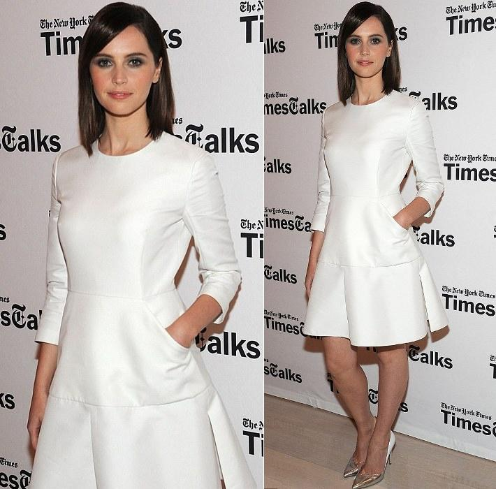 felicity-jones new-york-times-event