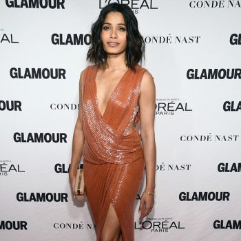 Freida-Pintos-2014-Glamour-Women-of-The-Year-Awards-Jason-Wu-Spring-2015-Sequined-Dress-1