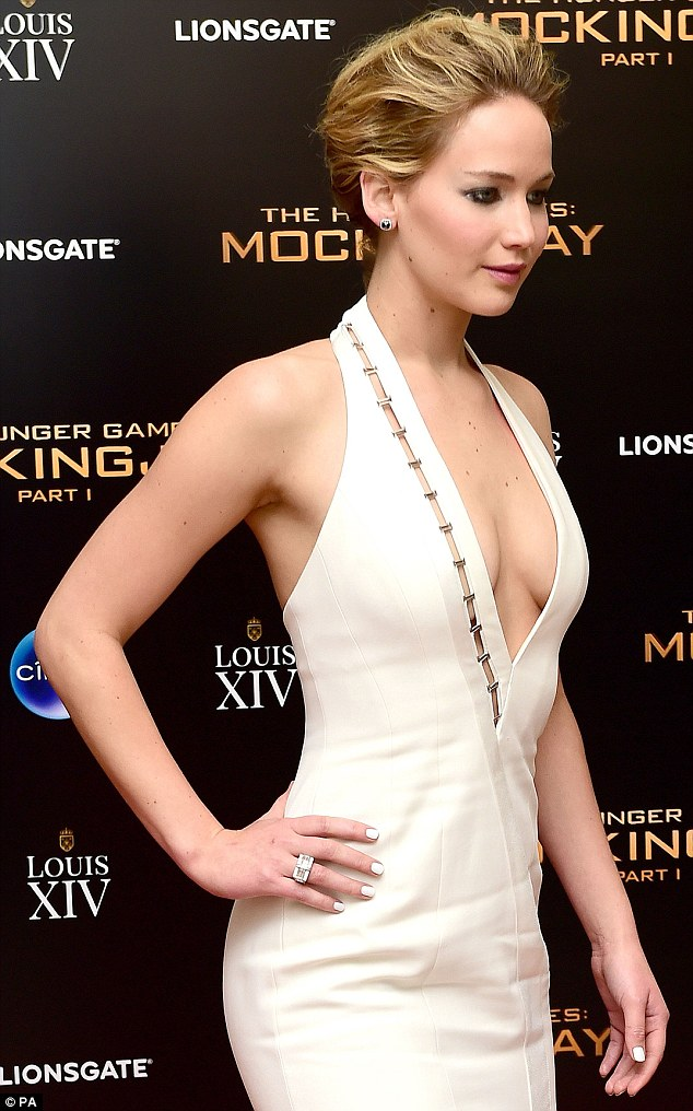 Jennifer Lawrence In Mulger by David Koma – 'The Hunger Games: Mockingjay – Part 1′ After-Party
