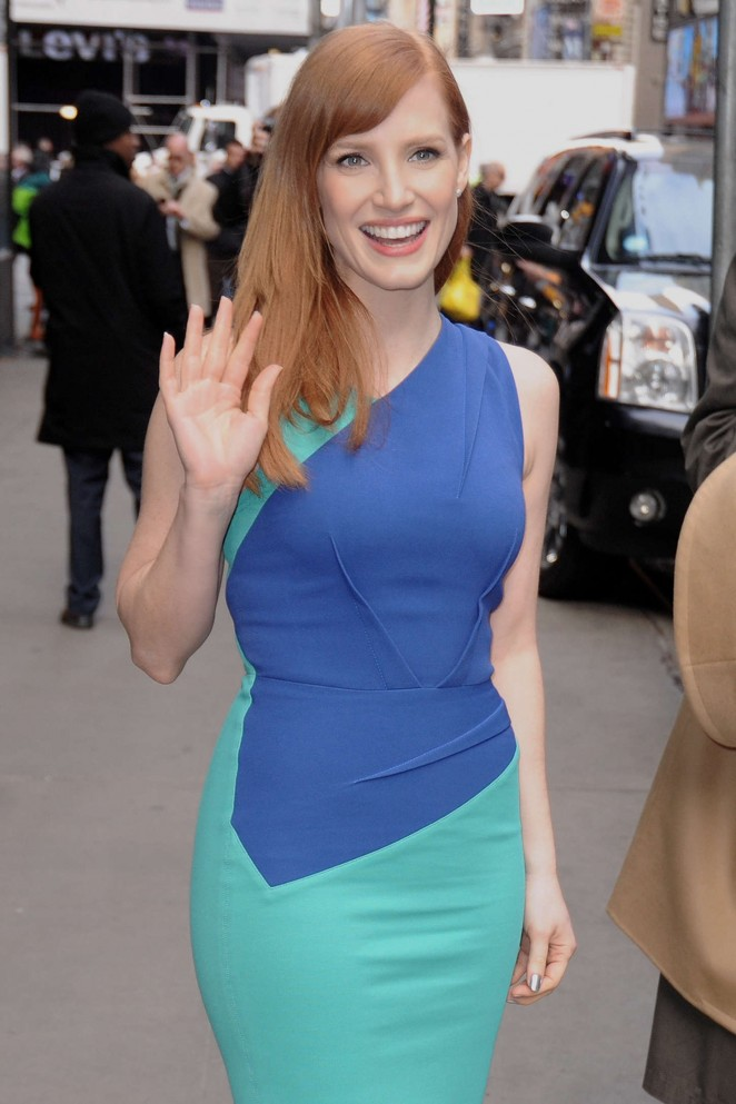 Jessica-Chastain--Good-Morning-America