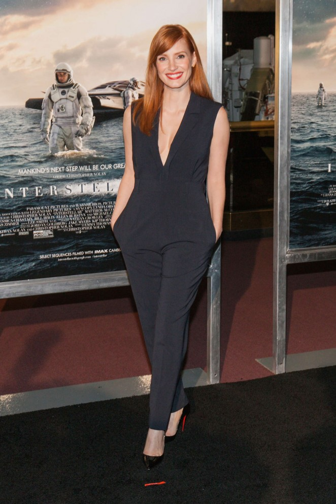Jessica-Chastain-Premiere-Interstellar-09-662×993