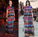 Karolina Kurkova in Roberto Cavalli  Vogue Fashion Dubai Experience Gala