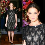 Katie Holmes In Marchesa – St. Regis Midnight Supper Event