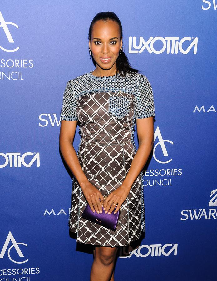 Kerry Washington in Prada at the 18th Annual Accessories Council ACE Awards