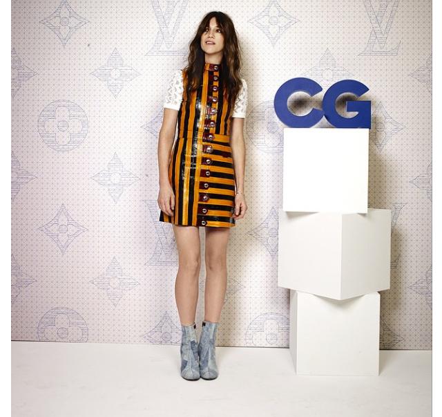 Charlotte Gainsbourg Wears Louis Vuitton – Louis Vuitton Monogram celebration