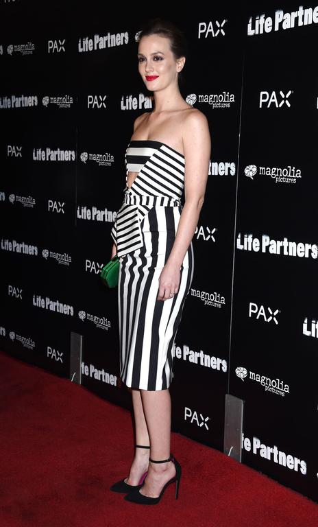 Leighton Meester In Cushnie et Ochs – 'Life Partners' LA Premiere