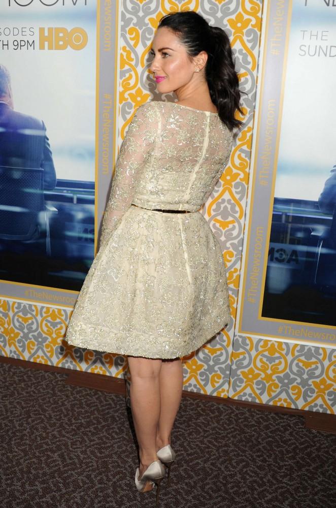 "Olivia Munn at HBO's ""Newsroom"" Season 3 premiere"