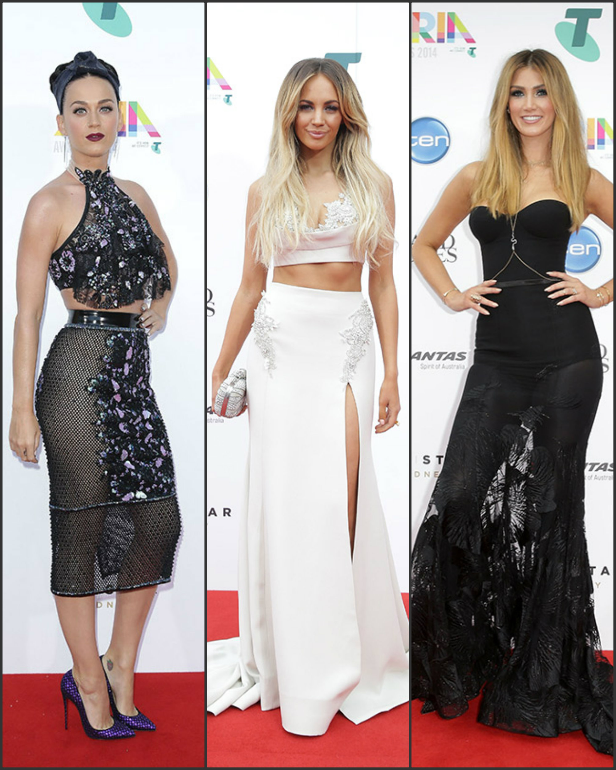 The 2014 Aria Awards Redcarpet Fashion Sizzle