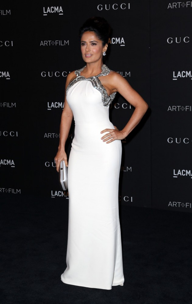 The-2014-LACMA-Awards-salma-hayak-gucci-631×1000