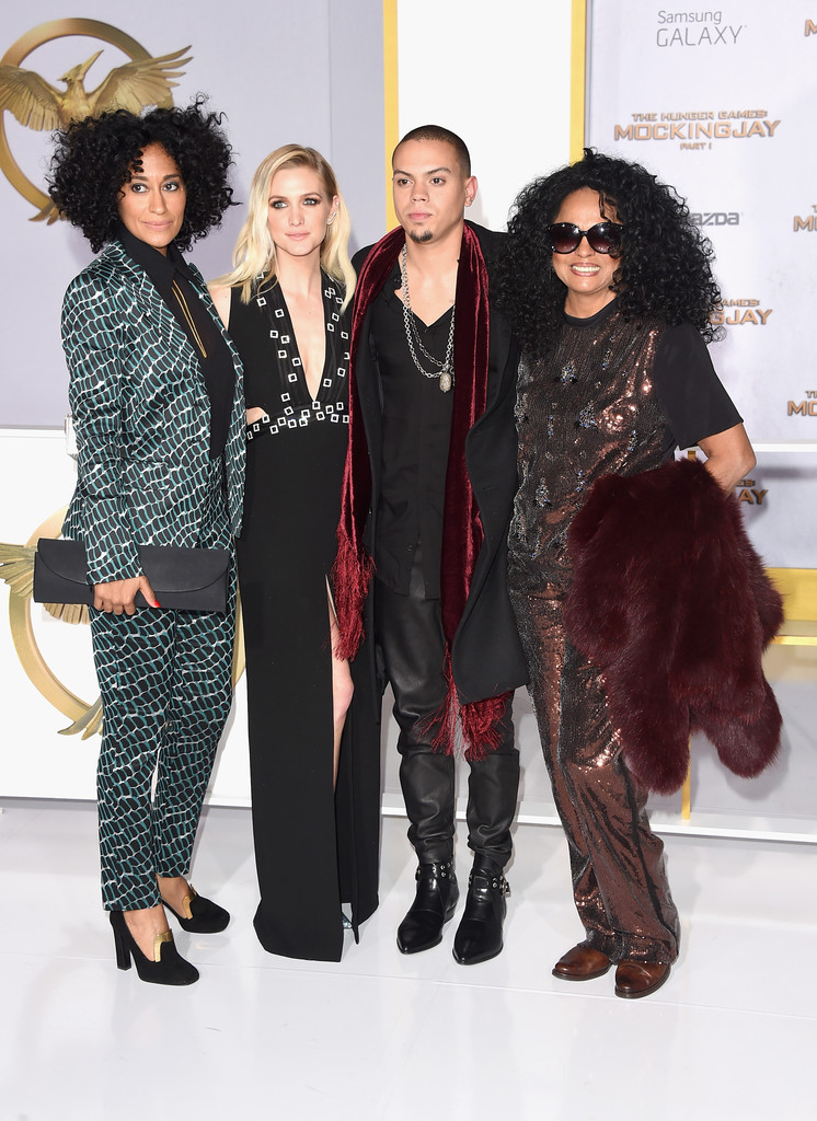 Tracee-Ellis-Ross-Diana-Ross-The-Hunger-Games-Mockingjay-Part-1-LA-Premiere