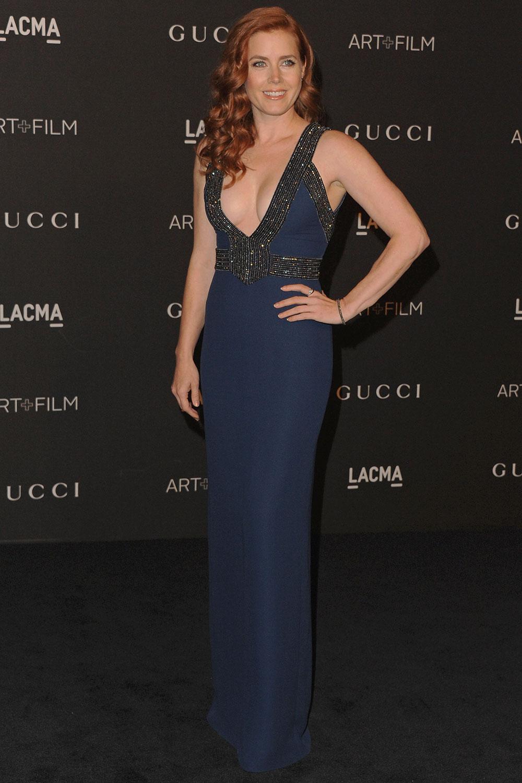 Amy Adams In Gucci – 2014 LACMA Art + Film Gala