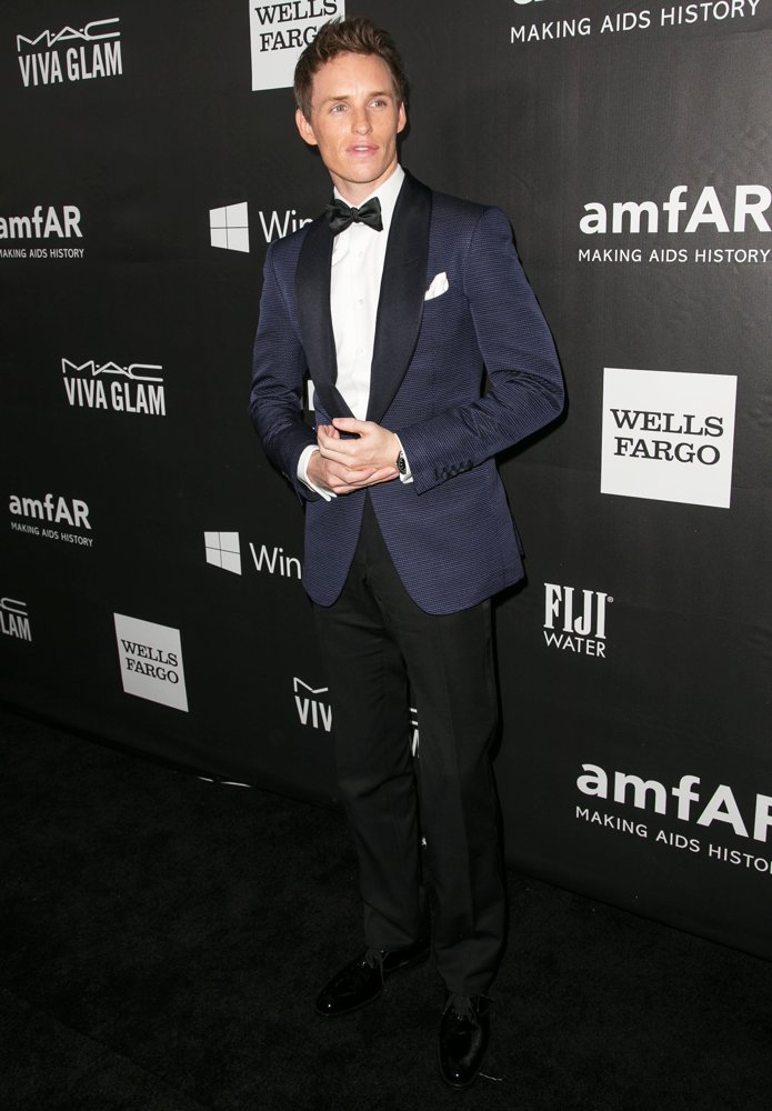 Eddie Redmayne in Tom Ford