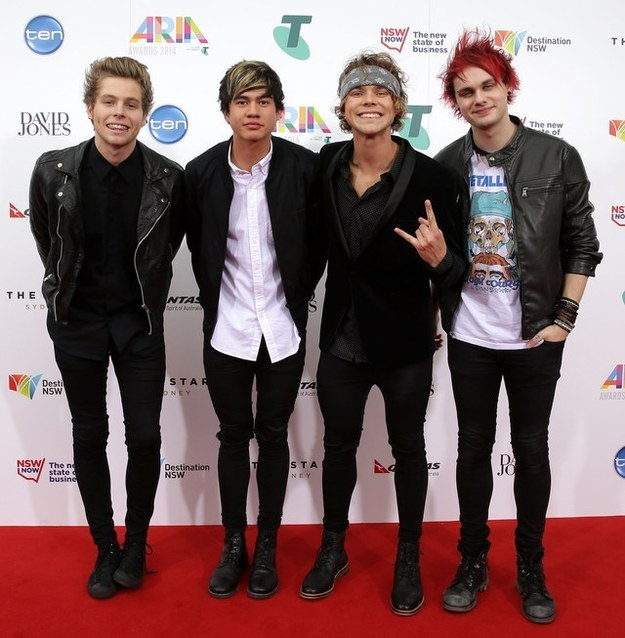 5- Seconds -Of -Summer-The -2014- Aria-Awards-Redcarpet