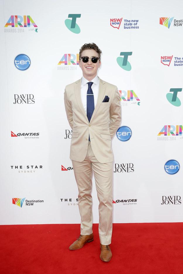 Harrison- Craig-The -2014- Aria-Awards-Redcarpet