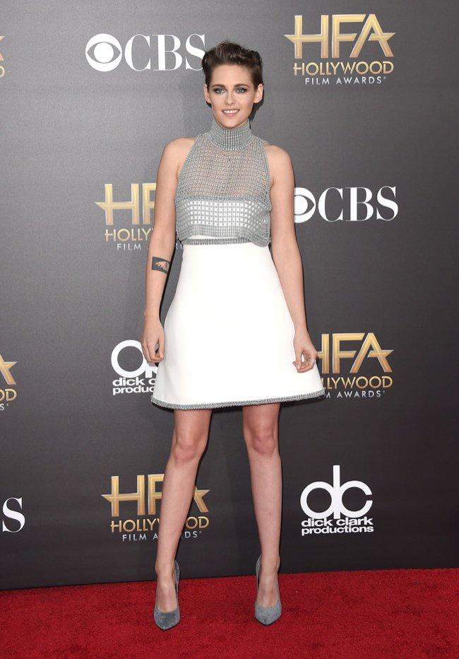 Kristen Stewart Wears Chanel Couture 2014 Hollywood Film