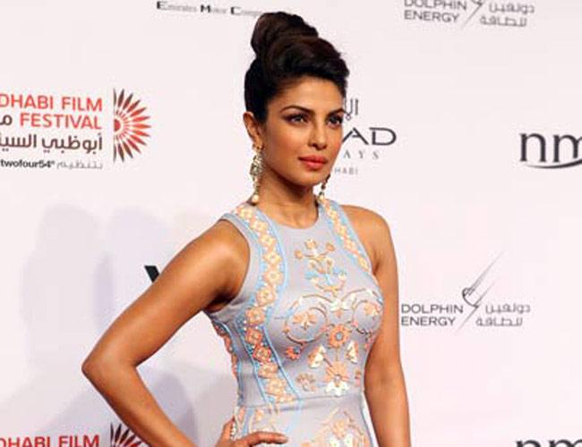 16706abb981f Priyanka Chopra wears Pankaj and Nidhi – Abu Dhabi Film Festival ...