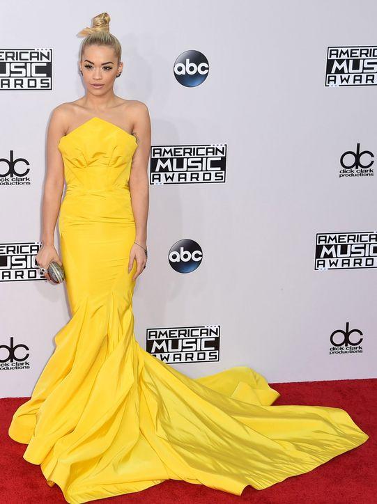 rita-ora-yellow-zac-posen-dress-american-music-awards-2014-h724