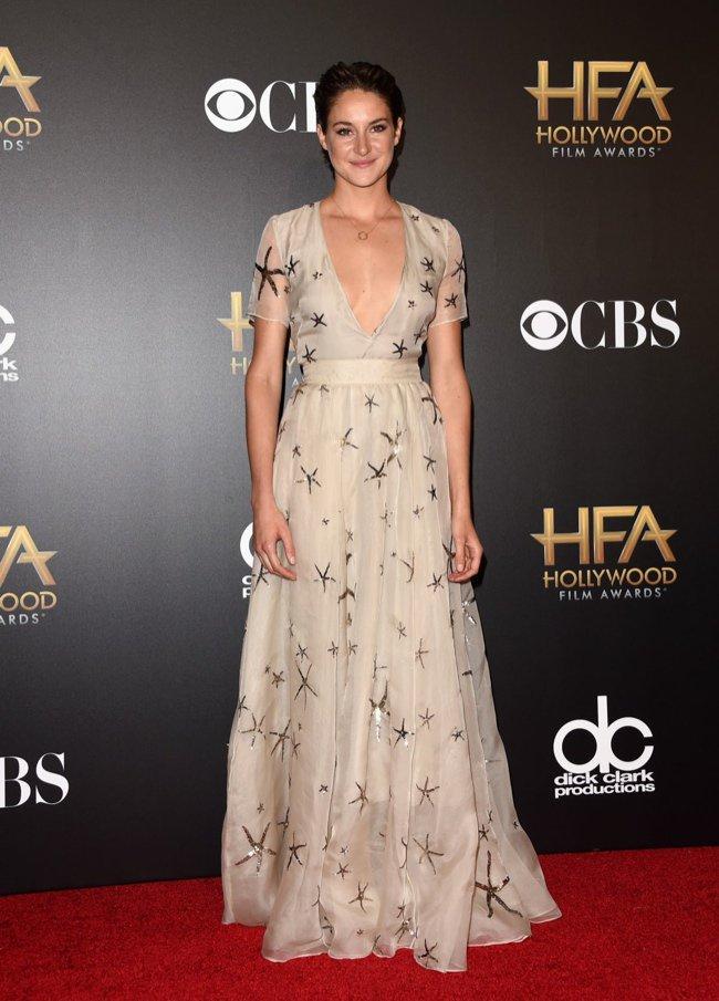 Hollywood Awards Shailene Woodley