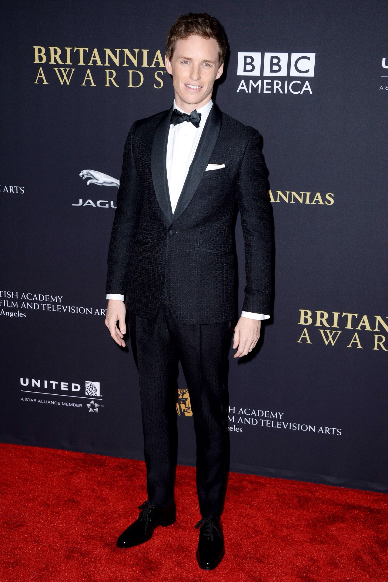 Eddie- Redmayne- BAFTA -Los -Angeles -Jaguar -Britannia- Awards.