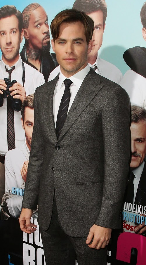 Chris -Pine- 'Horrible- Bosses- 2-′ LA- premiere