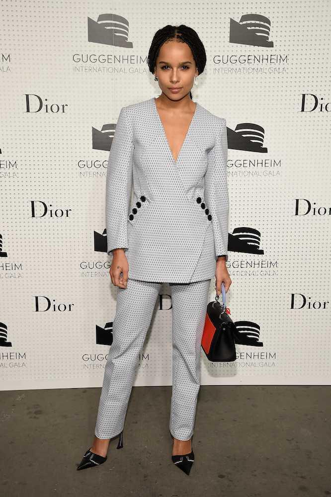 Zoe Kravitz-Guggenheim -International -Gala- Pre-Party -Made- Possible- By -Dior