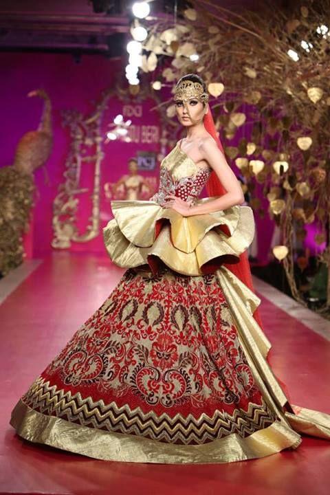 Designer Ritu Beri 2013 PcJ Couture Collection