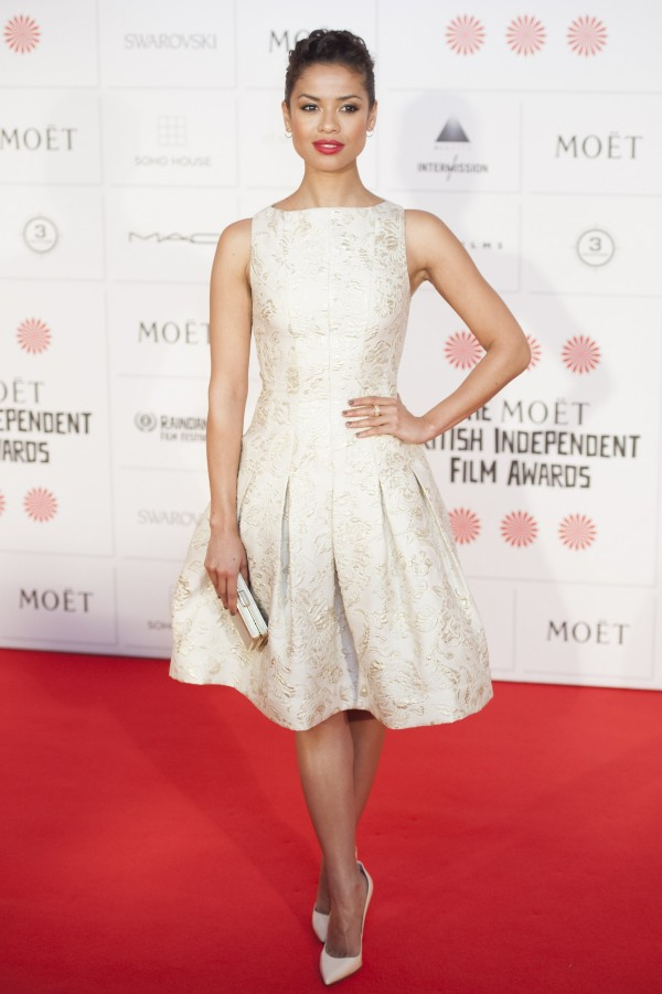 gugu-mbatha-raw-in-oscar-de-la-renta-at-the-2014-moet-british-independent-film-awards/