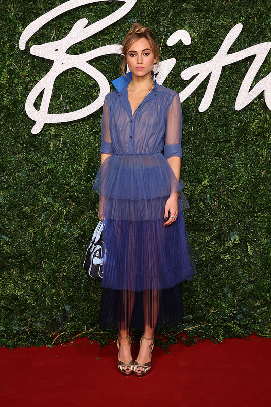 Suki -Waterhouse-2014-british-fashion-awards/