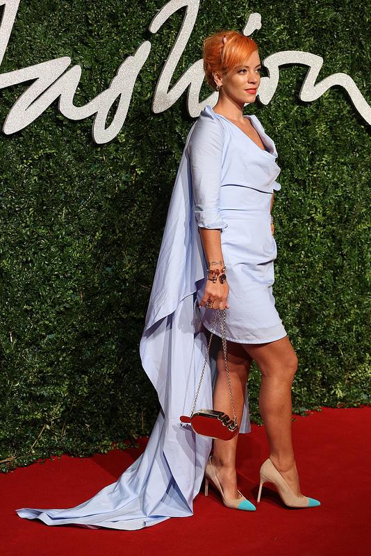 Lily -Allen-2014-british-fashion-awards
