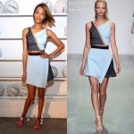 Jourdan Dunn  wears  David Koma – Alfa Romeo Celebration of AIRBALL