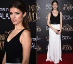 Anna Kendrick wears  Narciso Rodriguez – 'Into the Woods' World Premiere
