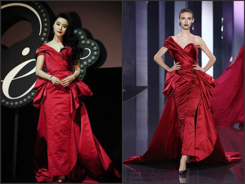 Fan- Bingbing-wears-Ralph & Russo-Couture-Moet-&-Chandon-Celebration