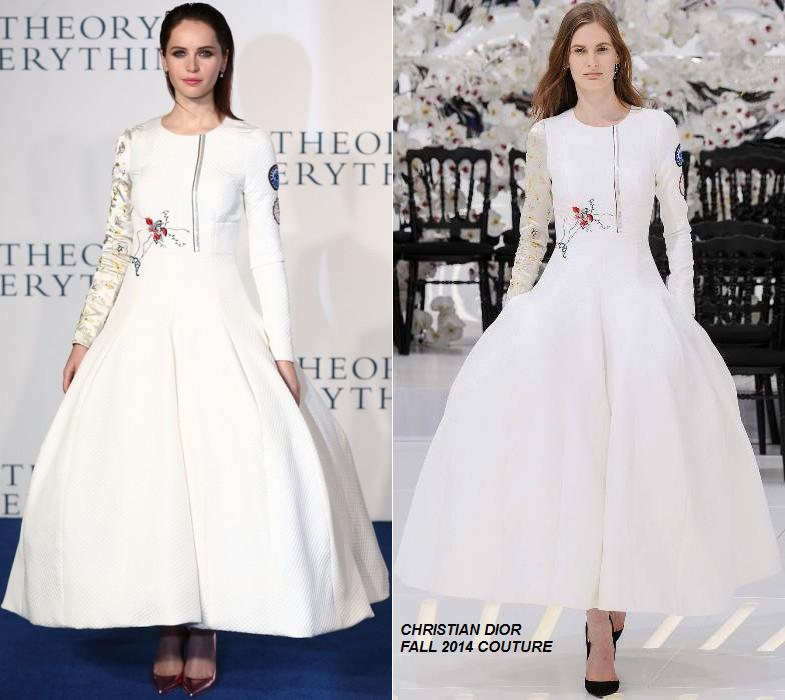 felicity-jones-christian-dior-couture-theory-everything-london-premiere/