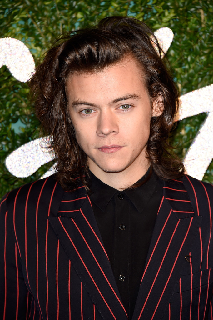 Harry Styles in Lanvin - British Fashion Awards 2014 ... Harry Styles Hair 2014