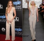 Jennifer Lopez wears  Naeem Khan – The PEOPLE Magazine Awards