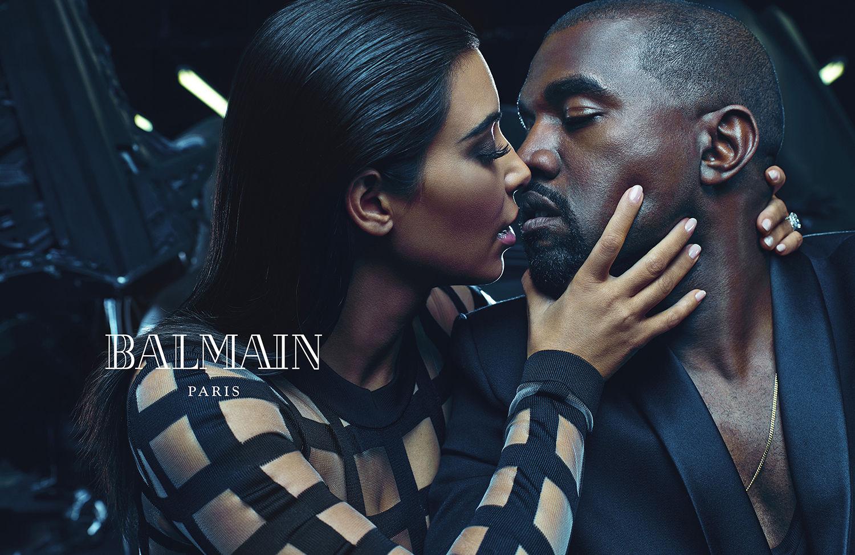 kim-kardashian-kanye-west-balmain-ad