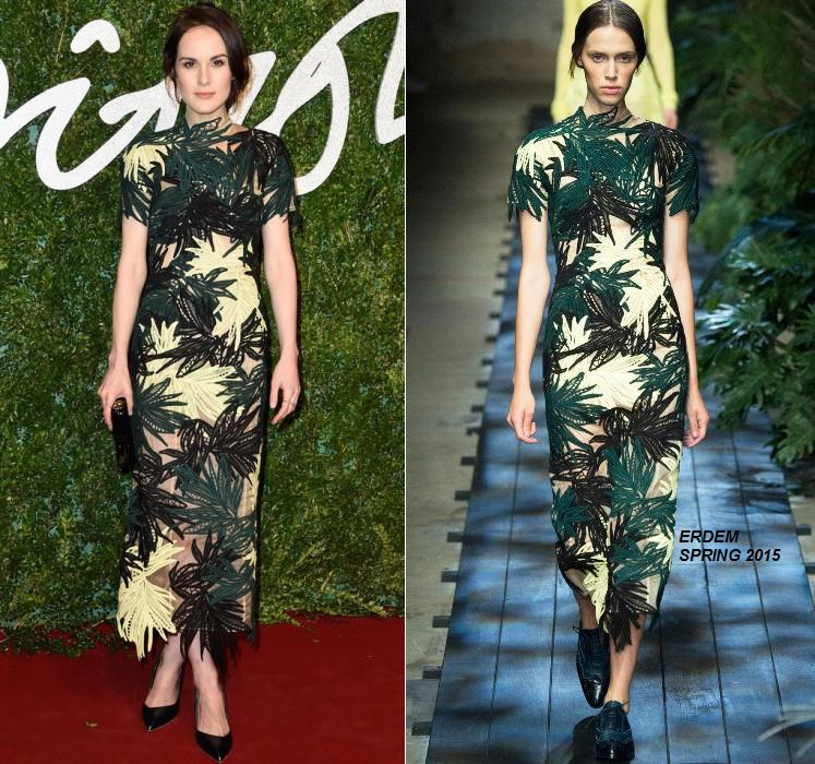 michelle-dockery-erdem-2014-british-fashion-awards/