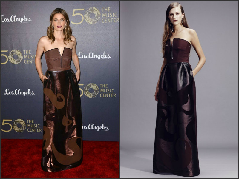 Stana-Katic-wears-Alberta-Ferretti-The Music-50th-Anniversary-Spectacular