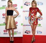 Taylor Swift wears  Romona Keveza & Sachin & Babi – KIIS FM's Jingle Ball & Capital FM's Jingle Bell Ball