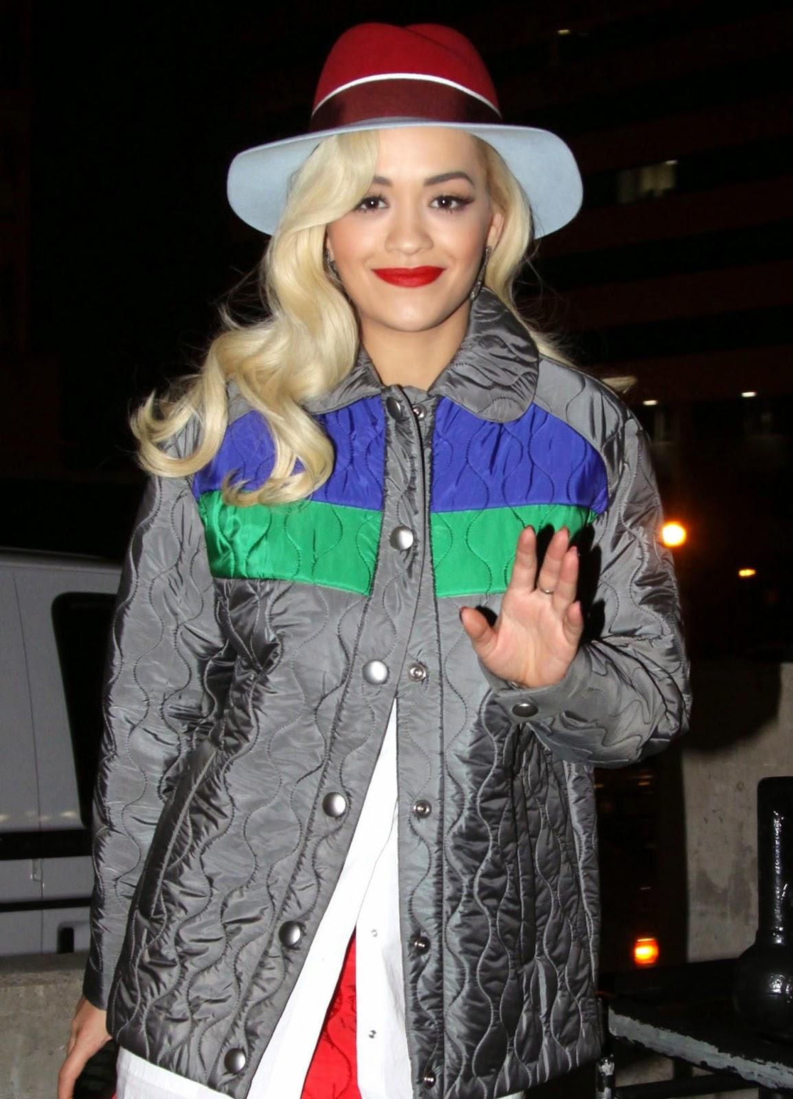 Rita Ora Wears Miu Miu  U2013 National Building Museum