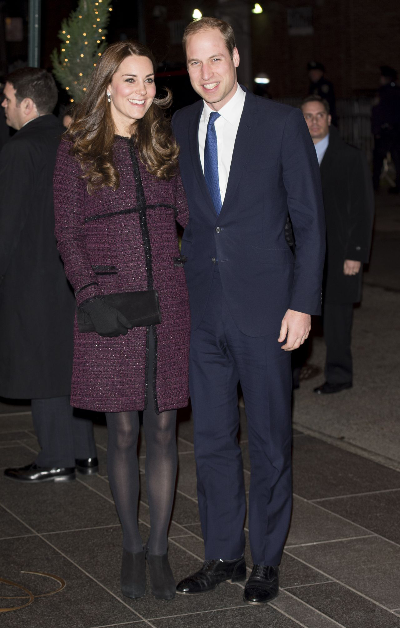 Kate Middleton (Duchess of Cambridge) and Prince William at The Carlyle Hotel in New York City – December 2014