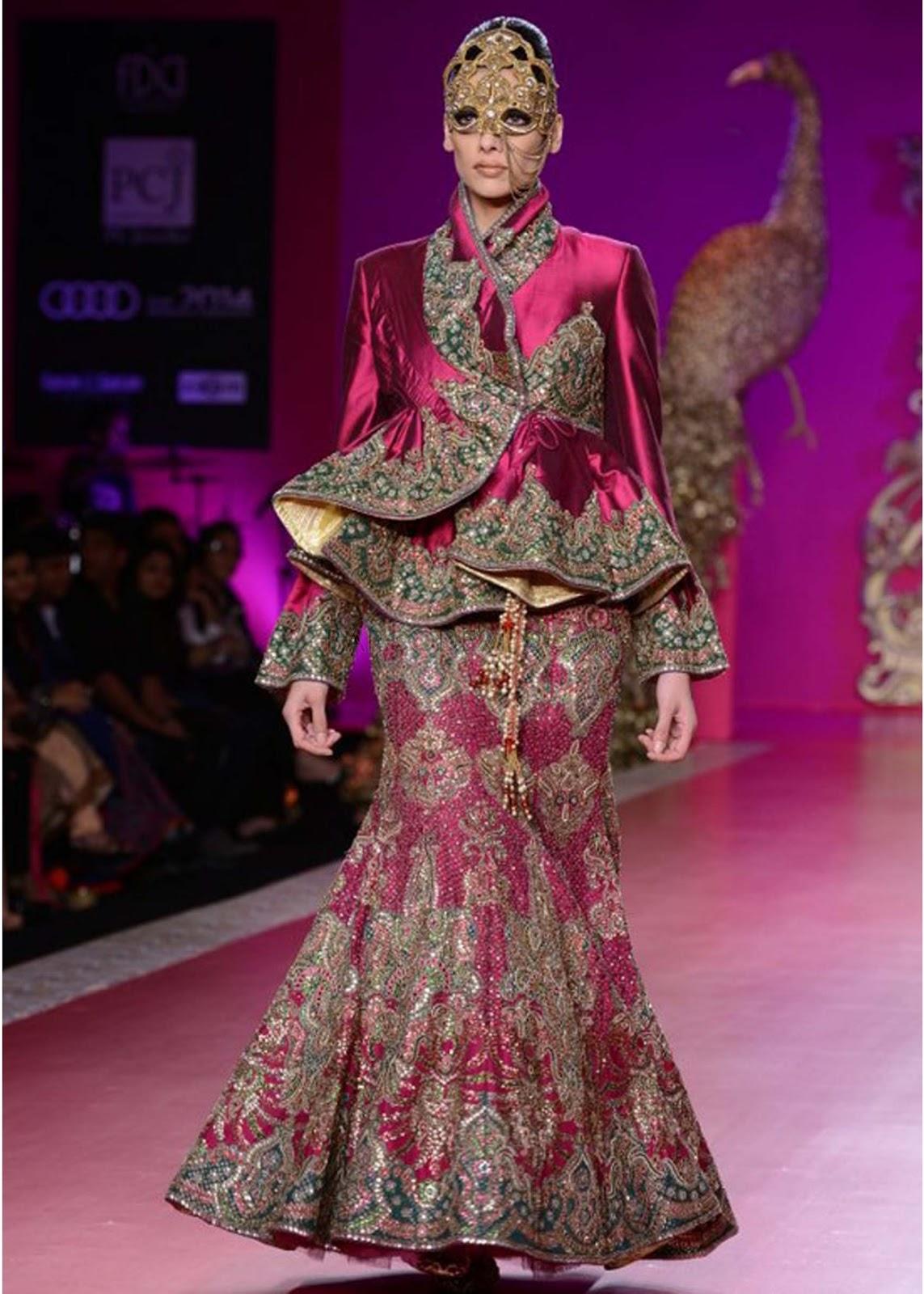 mehroon-stylish-short-frock-with-haevy-lehnga