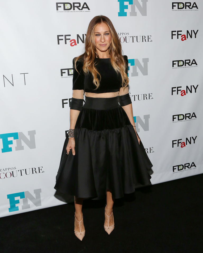 sarah-jessica-parker-delphine-manivet-couture-2014-fashion-footwear-association-new-york-awards/